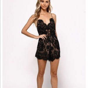 Tobi out of love lace romper